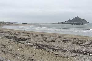 Marazion Beach to east